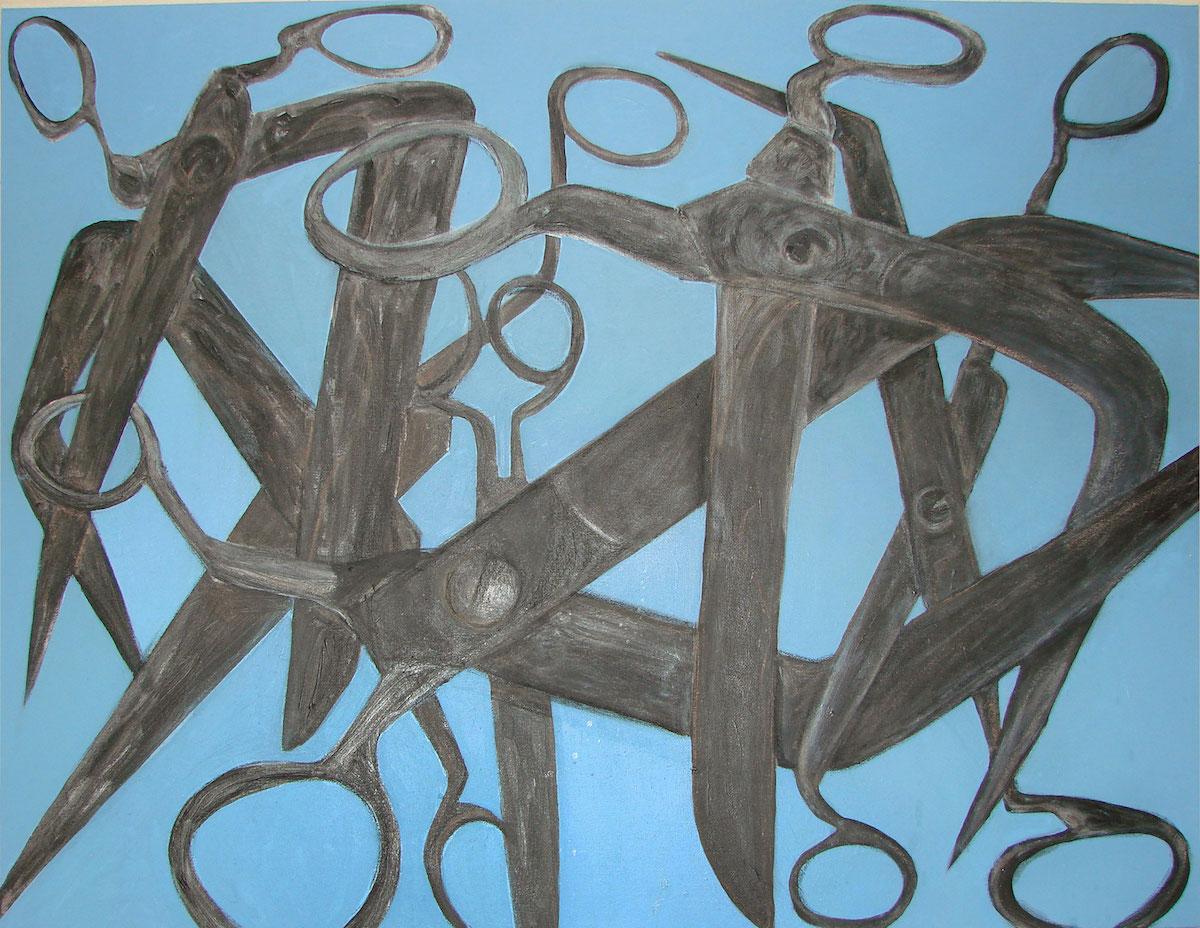 NED088 NEDA ARTWORK MELOOMI PERSIAN GALLERY