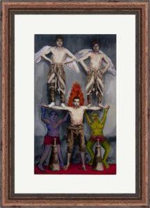 MRY001 Framed Meloomi Persian Art Gallery