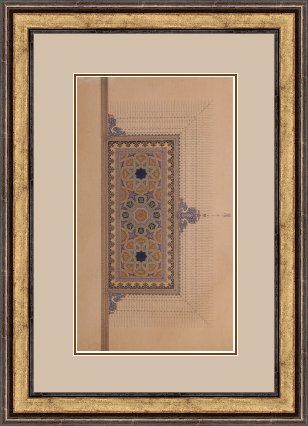 Gilding2Framed Meloomi Persian Art Gallery