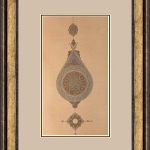 Gilding3Framed Meloomi Persian Art Gallery