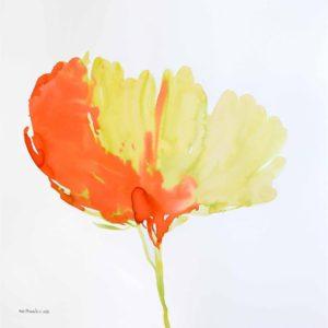 JAL007 Jalaleddin Mashmooli Iranian Artist Koutena Flowers Meloomi Persian Art Gallery