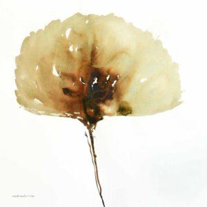 JAL010 Jalaleddin Mashmooli Iranian Artist Koutena Flowers Meloomi Persian Art Gallery
