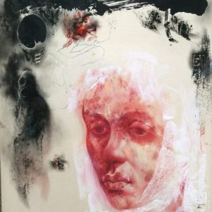 KHT001 Mehrdad Khataei Iranian Artist Chernobyl Meloomi Persian Art Gallery