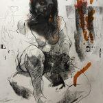 KHT002 Mehrdad Khataei Iranian Artist Chernobyl Meloomi Persian Art Gallery