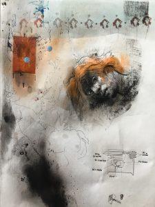 KHT003 Mehrdad Khataei Iranian Artist Chernobyl Meloomi Persian Art Gallery