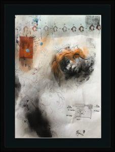 KHT003 Framed Meloomi Persian Art Gallery