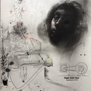 KHT004 Mehrdad Khataei Iranian Artist Chernobyl Meloomi Persian Art Gallery