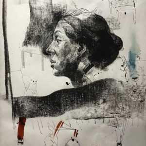 KHT005 Mehrdad Khataei Iranian Artist Chernobyl Meloomi Persian Art Gallery
