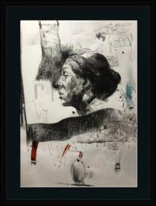 KHT005 Framed Meloomi Persian Art Gallery