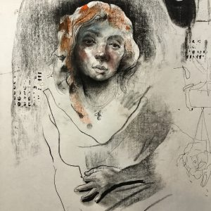 KHT006 Mehrdad Khataei Iranian Artist Chernobyl Meloomi Persian Art Gallery