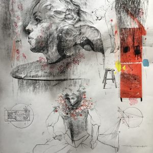 KHT007 Mehrdad Khataei Iranian Artist Chernobyl Meloomi Persian Art Gallery