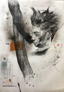 KHT009 Mehrdad Khataei Iranian Artist Chernobyl Meloomi Persian Art Gallery