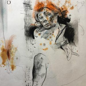 KHT012 Mehrdad Khataei Iranian Artist Chernobyl Meloomi Persian Art Gallery